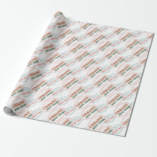 Ukraine Been There Done That Wrapping Paper