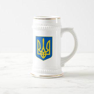 Ukraine COA Beer Stein