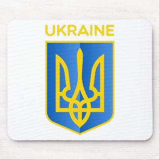 Ukraine coat of arms mousepads