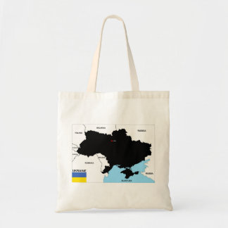 ukraine country political map flag bags