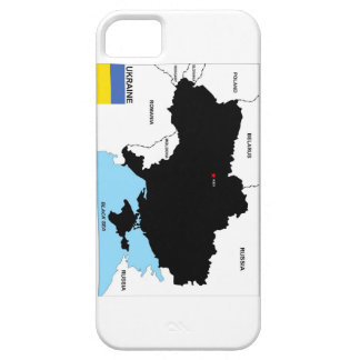 ukraine country political map flag iPhone 5 cover