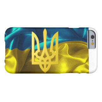 Ukraine Flag and Tryzub iPhone Case
