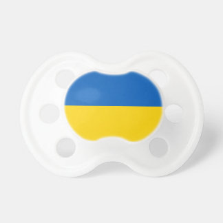 Ukraine Flag Booginhead Pacifier