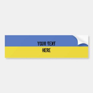 Ukraine Flag Bumper Sticker