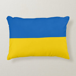 Ukraine Flag Decorative Cushion