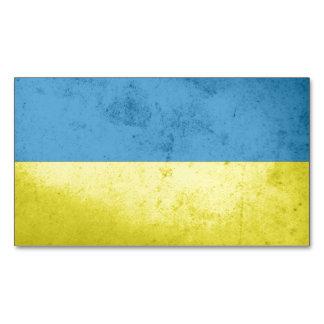 Ukraine Flag Magnetic Business Cards