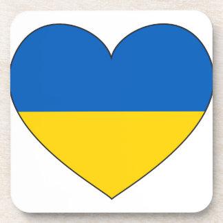 Ukraine Flag Simple Coasters