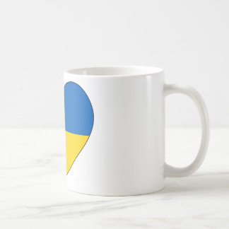 Ukraine Flag Simple Coffee Mug