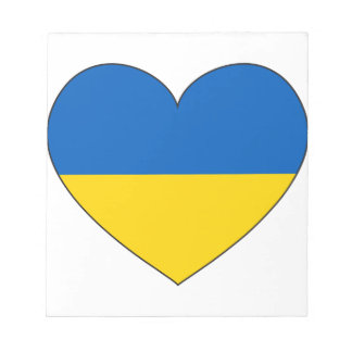 Ukraine Flag Simple Notepad