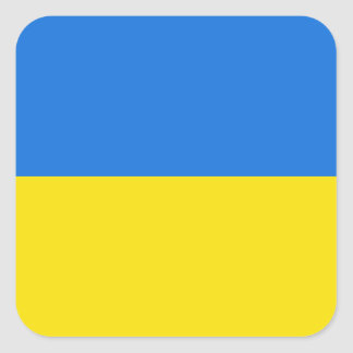 Ukraine Flag Sticker