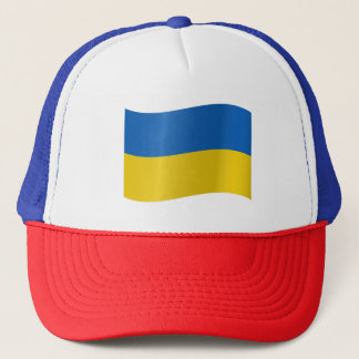 Ukraine Flag Trucker Hat