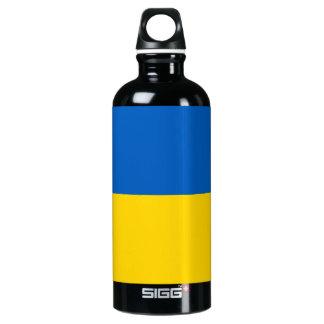 Ukraine Flag Water Bottle