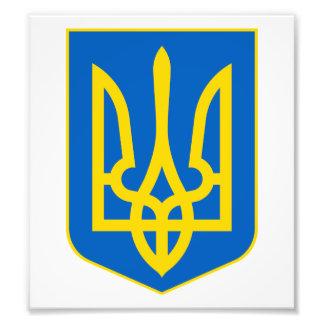 Ukraine Lesser Coat Of Arms Photo Art