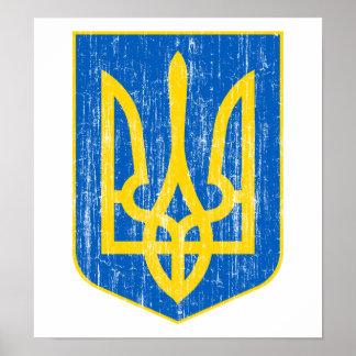 Ukraine Lesser Coat Of Arms Poster