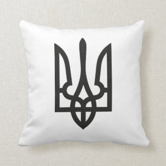 Ukraine national emblem country symbol flag cushion