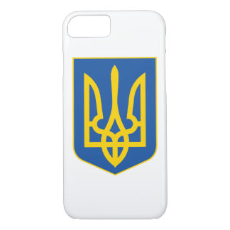 Ukraine national emblem country symbol flag iPhone 8/7 case