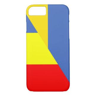 ukraine romania flag country half symbol iPhone 8/7 case