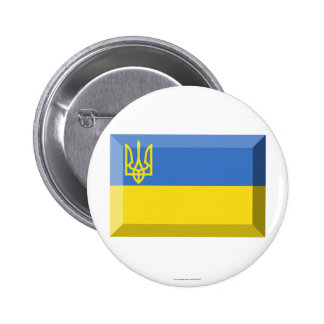 Ukraine Traditional Flag Jewel Button