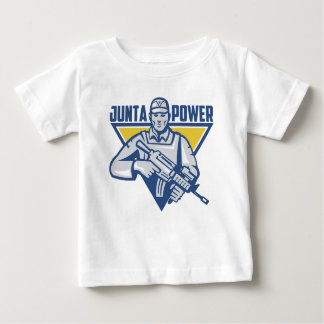 Ukrainian Army Junta Power Baby T-Shirt