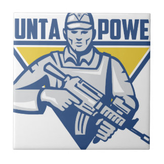Ukrainian Army Junta Power Ceramic Tile