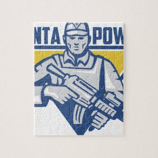 Ukrainian Army Junta Power Jigsaw Puzzle