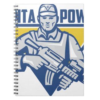 Ukrainian Army Junta Power Notebooks
