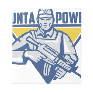 Ukrainian Army Junta Power Notepad