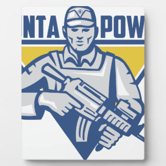 Ukrainian Army Junta Power Plaque