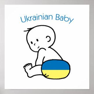 Ukrainian Baby Poster