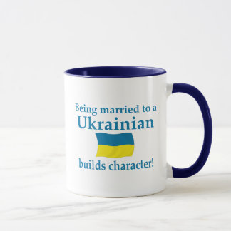 Ukrainian Builds Character Mug