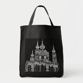 Ukrainian Church Grocery Tote Bag