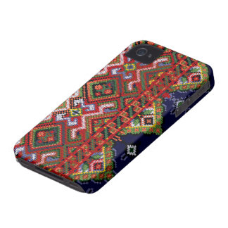 Ukrainian Cross Stitch Embroidery iPhone 4/4S ID C iPhone 4 Case-Mate Cases