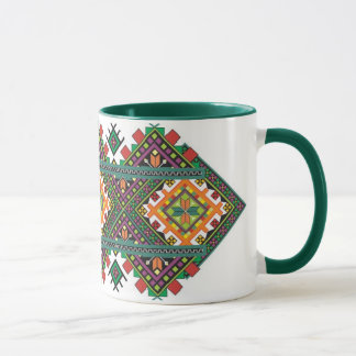 Ukrainian Cup with ornament