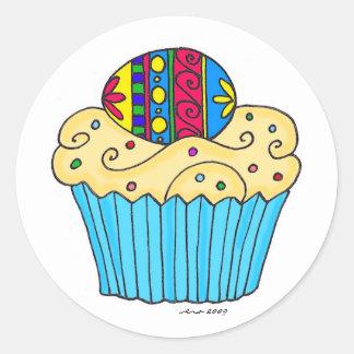 Ukrainian Cupcake by Vera Trembach Classic Round Sticker