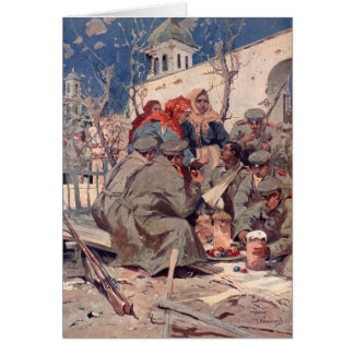 Ukrainian Easter in Galicia Card