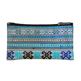 Ukrainian Folk Design double-sided Cosmetic Bags
