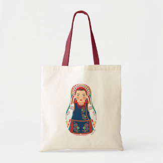 Ukrainian Girl Matryoshka Bag