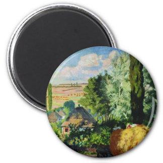 Ukrainian Landscape artwork Magnet