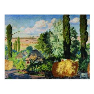Ukrainian Landscape artwork Postcard