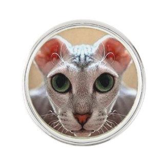 Ukrainian Levkoy Cat Face Pin