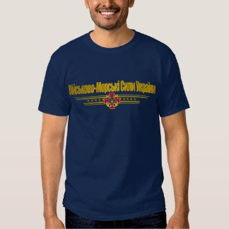 """""""Ukrainian Naval Forces"""" Apparel T Shirts"""