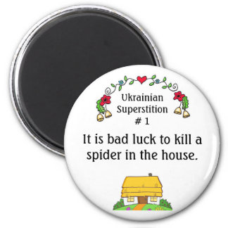 Ukrainian Superstitions Magnet