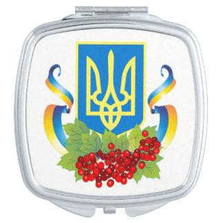 Ukrainian Tryzub Ribbon Kalyna Mirror Vanity Mirrors