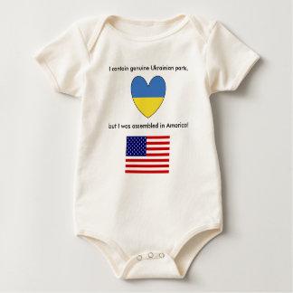 Ukranian American Baby Baby Bodysuit