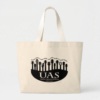 Ukulele Acquisition Syndrome Large Tote Bag