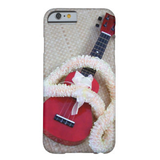 Ukulele and Satin Lei Barely There iPhone 6 Case
