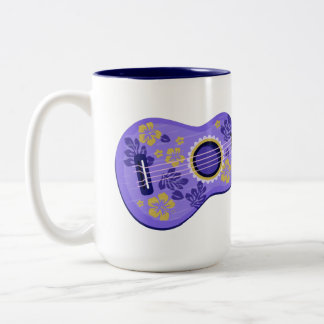 Ukulele custom name mugs