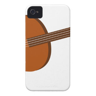 Ukulele Drawing iPhone 4 Case
