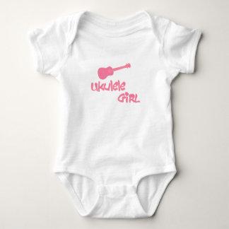 Ukulele Girl Baby Bodysuit
