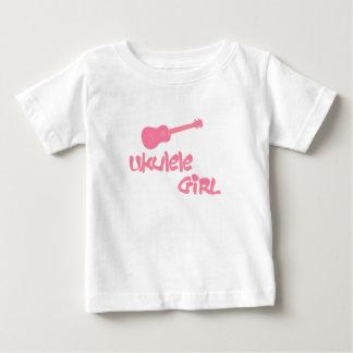 Ukulele Girl Baby T-Shirt